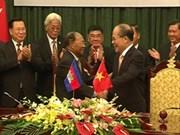 Vietnam et Cambodge intensifient leur coopération parlementaire