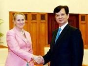Le Premier ministre reçoit la vice-présidente de la BM