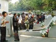 27 juillet: les dirigeants rendent hommage