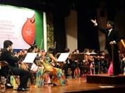 Un concert d'amitié Vietnam-Cambodge