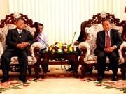 Une délégation du Comité de pilotage du Tay Nguyen au Laos