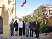 Le Vietnam hisse le drapeau de l'ASEAN à Rome
