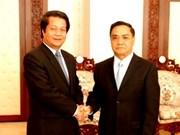 Une délégation de la province de Phu Tho au Laos