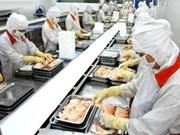 Hausse des exportations de produits aquatiques en sept mois