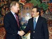 Le député américain David Dreier reçu au Vietnam