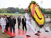 Kim Yong-nam termine sa visite officielle au Vietnam