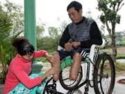 Bombes: aide japonaise pour la province de Quang Tri