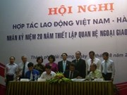 Vietnam et R. de Corée intensifient leur coopération dans l'envoi de travailleurs