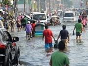 Message de sympathie aux Philippines