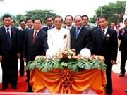 Un lycée contruit par le Vietnam au Laos