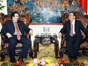 Le vice-PM Hoang Trung Hai reçoit un vice-ministre des AE vénézuélien
