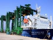 Doosan Vina exporte huit grues vers Singapour