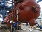 Electricité : installation d'un générateur de vapeur à Mong Duong 2