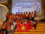Les Chinois soufflent ABU Robocon aux Vietnamiens