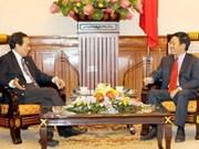 Pham Binh Minh reçoit un diplomate singapourien