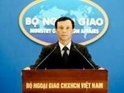 Le VN proteste contre les exercices militaires de Taïwan sur l'île de Ba Binh