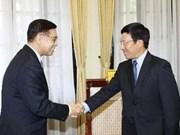 Pham Binh Minh reçoit un haut officiel thaïlandais
