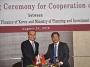 Coopération Vietnam-R. de Corée dans le partenariat public-privé
