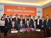 Vietnam et R. de Corée coopèrent dans la croissance verte