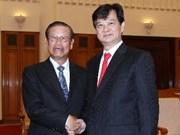 Le PM Nguyên Tân Dung reçoit un dirigeant laotien