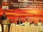 Conférence internationale sur la Mer Orientale en Indonésie