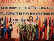 Ouverture d'une conférence de l'OMS à Hanoi