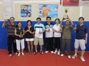 Tournoi de tennis de table de l'ASEAN à HCM-Ville