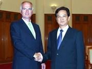 Le PM reçoit les ambassadeurs d'UE et de France