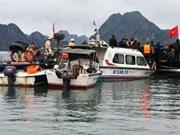 Poursuites judiciaires dans l'accident entre bateaux à Ha Long