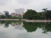 Hanoi construit une station d'épuration du lac Bay Mau