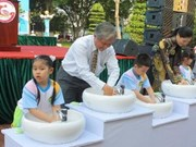 Le Vietnam fait écho à la Journée mondiale du lavage des mains