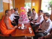 Félicitations aux Khmers en l'honneur de la fête Sene Dolta