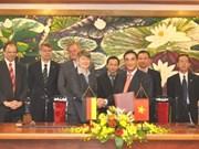 Signature de l'accord de coopération financière Vietnam-Allemagne