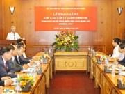 Contrôle du Parti: début d'un cours pour les cadres laotiens