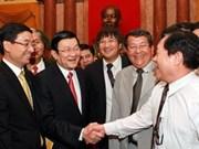 Truong Tân Sang affirme le soutien aux entrepreneurs