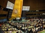 Le Vietnam élu rapporteur de la Sixième Commission de l'ONU