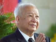 L'ex-roi Norodom Sihanouk du Cambodge est décédé