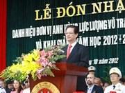L'Académie de la Police populaire du Vietnam à l'honneur