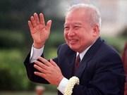 Cambodge : une semaine de deuil pour Norodom Sihanouk