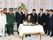 Le Vietnam rend hommage à Norodom Sihanouk