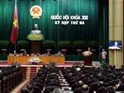 L'Assemblée nationale se réunira lundi