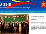 ASEAN: inauguration du site web de la commission des droits de l'homme