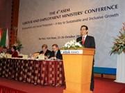 Travail : des ministres d'Asie et d'Europe se réunissent à Hanoi