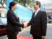 La presse thaïlandaise couvre la réunion des cabinets Vietnam-Thaïlande