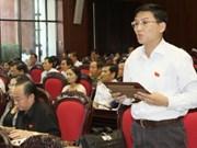 L'AN discute du développement socio-économique