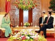 Nguyen Tan Dung reçoit le nouvel ambassadeur d'Israël