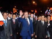 Le PM russe arrive au Vietnam la semaine prochaine