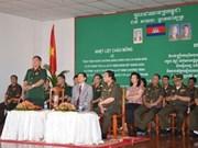 Vietnam-Cambodge : coopération entre deux hôpitaux
