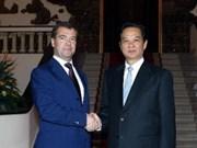 La presse russe salue la visite de Dmitry Medvedev au Vietnam