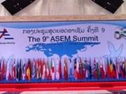 Ouverture du 9e Sommet Asie-Europe